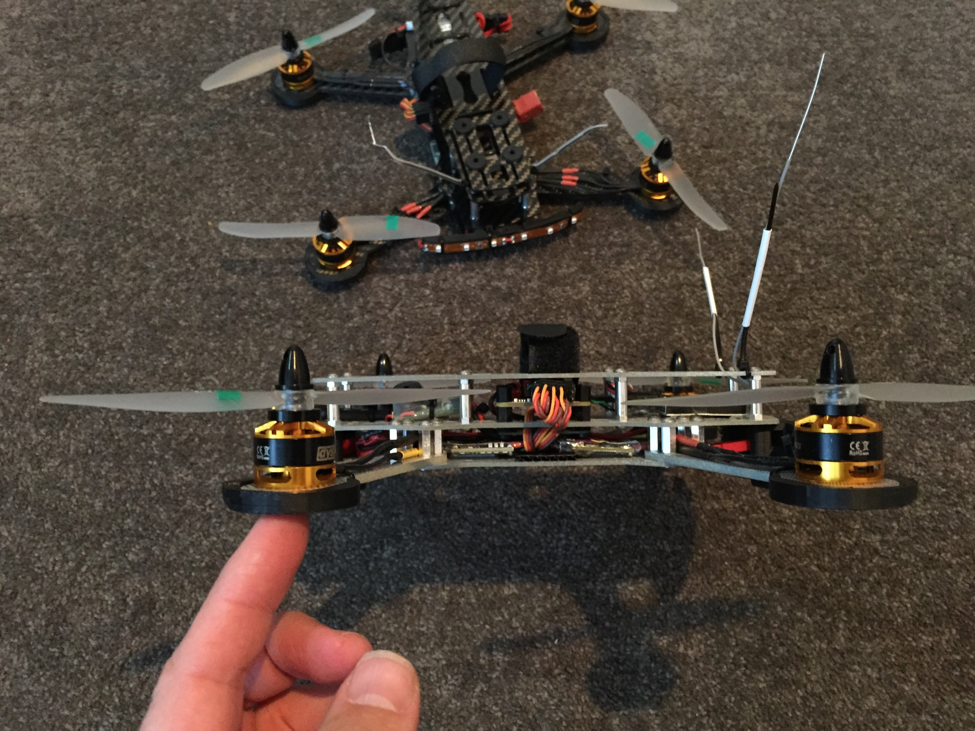 Гоночный квадрокоптер своими руками 953