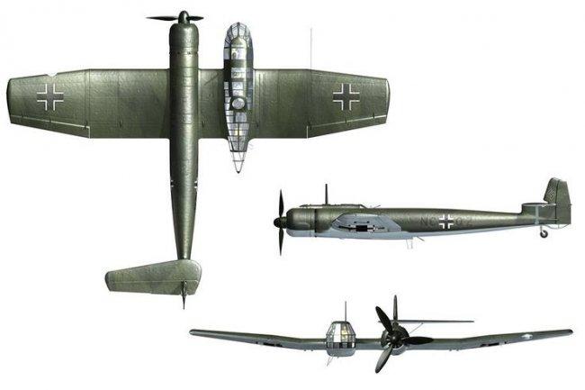 用轻木和泡沫板制作BV-141B 第2张