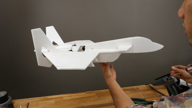 FTVector Build航模制作视频教程带航模图纸 第28张