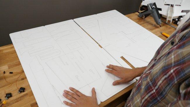 FTVector Build航模制作视频教程带航模图纸 第2张