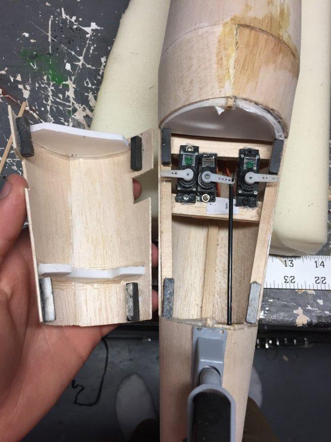 用轻木和泡沫板制作BV-141B 第16张