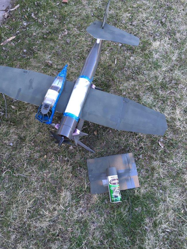 用轻木和泡沫板制作BV-141B 第30张