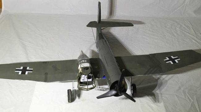 用轻木和泡沫板制作BV-141B 第32张