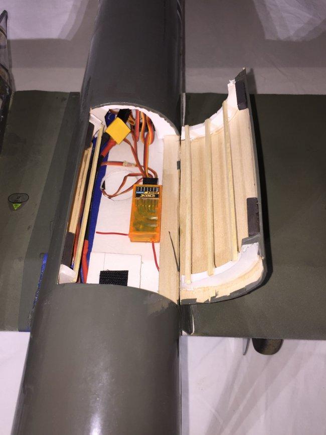 用轻木和泡沫板制作BV-141B 第22张
