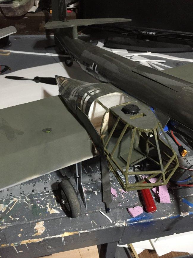 用轻木和泡沫板制作BV-141B 第26张