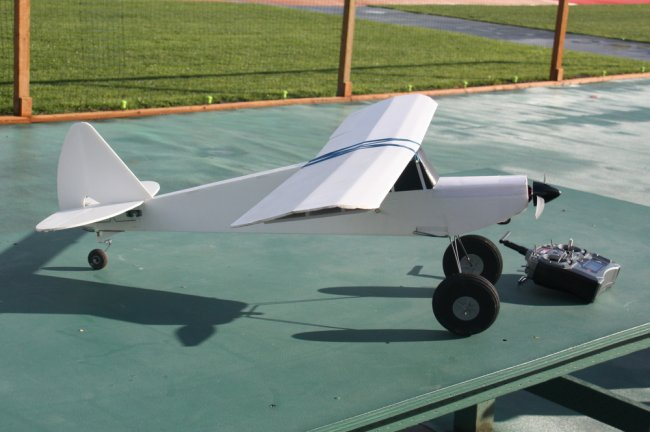 rc spitfire plans pdf flight test