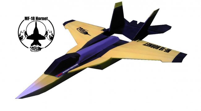 MF-18大黄蜂航模制作 带图纸 第2张