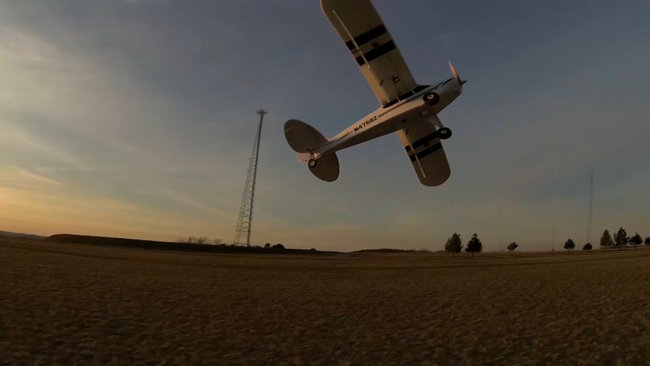 how to fly a super cub