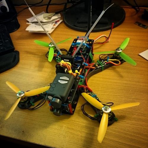 FPV250 Long Frame Quadcopter Image